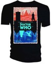 Doctor Who - Gallifrey/Skaro (Frame) Men's T-Shirt - Black (Small)