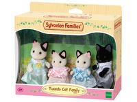 Sylvanian Families - Tuxedo Cat Family (Playset) - Cover