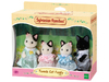 Sylvanian Families - Tuxedo Cat Family (Playset)