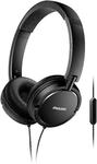 Philips On-Ear Headphones (Black)