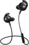 Philips BASS+ In-Ear Wireless Headphones (Black)