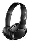 Philips BASS+ On-Ear Wireless Headphones (Black)