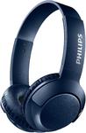 Philips BASS+ On-Ear Wireless Headphones (Blue)