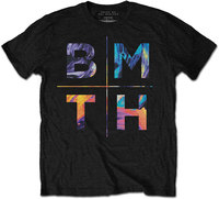 Bring Me The Horizon - Colours Men's T-Shirt - Black (X-Large) - Cover