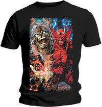 Iron Maiden - Duality Men's T-Shirt - Black (XX-Large) - Cover