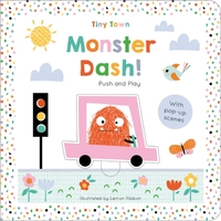 Monster Dash! - Joshua George (Board book) - Cover