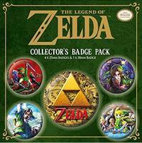 Nintendo - The Legend of Zelda Collectors Badge pack - Cover
