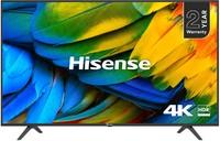 Hisense B7100 55 Inch UHD 4K DLED Smart TV - Black - Cover
