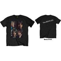 The Beatles - White Album Faces Men's T-Shirt - Black (X-Large) - Cover