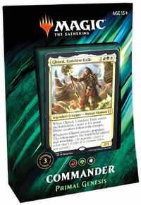 Magic: The Gathering - Commander 2019 Deck - Primal Genesis (Trading Card Game) - Cover