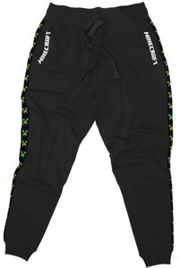 Minecraft - Creeper TNT Youth Jogger - Black (11-12 Years) - Cover