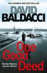 One Good Deed - Baldacci  David (Paperback)