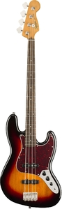 Squier Classic Vibes '60s Jazz Bass Guitar (3-Color Sunburst) - Cover