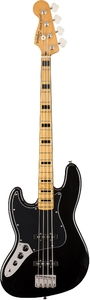 Squier Classic Vibes '70s Jazz Bass Left-Handed (Black) - Cover