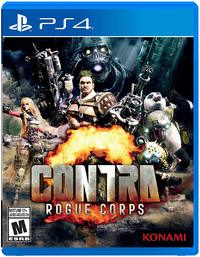 Contra Rogue Corps (US Import PS4) - Cover
