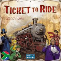 Ticket to Ride - Afrikaans & English Bilingual Edition (Board Game) - Cover