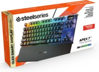 SteelSeries APEX 7 TKL Mechanical Gaming Keyboard (Red Switch) (PC/Gaming)