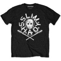 Eminem - Packaged Shady Mask Boys T-Shirt - Black (1-2 Years) - Cover