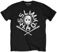 Eminem - Packaged Shady Mask Boys T-Shirt - Black (9-10 Years) - Cover