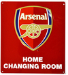 Arsenal F.C. - Home Changing Room Sign