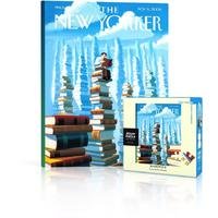 New York Puzzle Company - Bookopolis Mini Puzzle (100 Pieces)