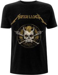 Metallica - Scary Guy Seal Men's T-Shirt - Black (Large) - Cover