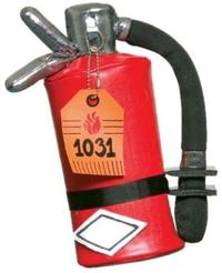 Fire Extinguisher Purse,  One Size, Halloween Costume (Red) - Cover