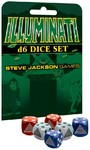 Steve Jackson Games - D6 Dice Set - Illuminati