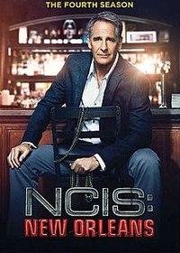 NCIS New Orleans - Season 4 (DVD) - Cover