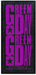 Green Day - Purple Logo Patch