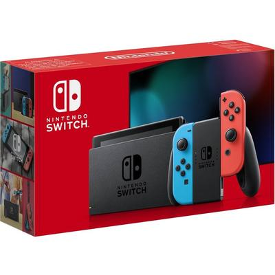 Nintendo Switch Console - Neon Red/Neon Blue (New revised model)