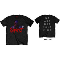 Slipknot - WANYK Back Hit Men's Black T-Shirt (Large) - Cover