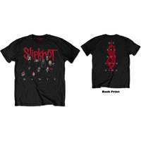 Slipknot - WANYK Logo Men's Black T-Shirt (Medium) - Cover