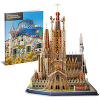 CubicFun - National Geographic - Sagrada Familia 3D Puzzle (184 Pieces)