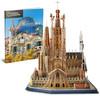 CubicFun - National Geographic - Sagrada Familia 3D Puzzle (184 Pieces)