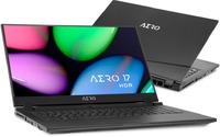 Gigabyte AERO 17 HDR i7-9750H 16GB RAM 512GB SSD nVidia GeForce RTX 2070 8GB 17.3 Inch UHD 4K Notebook - Black