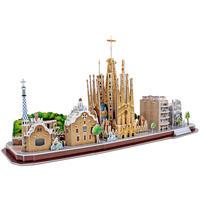 CubicFun - City Line Barcelona 3D Puzzle (186 Pieces)