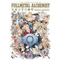 The Complete Art of Fullmetal Alchemist - Hiromu Arakawa (Hardcover)