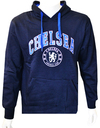 Chelsea - Crest Men's Hoody - Navy (X-Large)