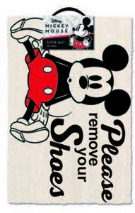 Mickey Mouse - Please Remove Your Shoes - Door Mat - Cover