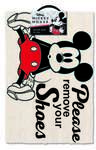 Mickey Mouse - Please Remove Your Shoes - Door Mat