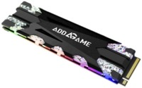 Addlink 256GB X70 M.2 2280 RGB PCIe GEN3x4 NVMe Solid State Drive - Cover
