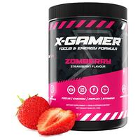 X-Gamer 600G X-Tubz Powacrush Zomberry-flavoured Energy Formula (60 daily portions)