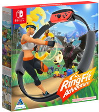 Ring Fit Adventure (Includes Game, Ring-Con and Leg Strap) (Nintendo Switch) - Cover