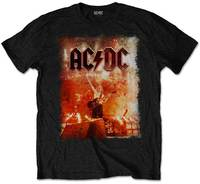 AC/DC - Live Canons Men's T-Shirt - Black (Large) - Cover