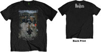 The Beatles - 3 Savile Row Men's T-Shirt - Black (Medium) - Cover