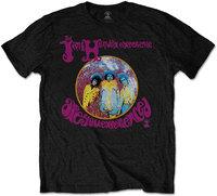 Jimi Hendrix - Are You Experienced Men's T-Shirt - Black (Large) - Cover