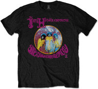 Jimi Hendrix - Are You Experienced Men's T-Shirt - Black (Small) - Cover