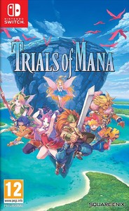 Trials of Mana HD Remake (Nintendo Switch) - Cover