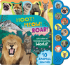 Hoot! Meow! Roar!: Let's Listen to Animals Around the World! - Parragon Books (Hardcover)